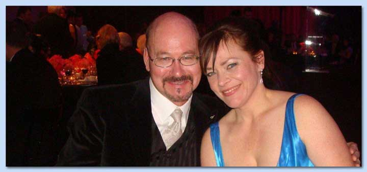 Kathy Baan with husband Duncan Meiklejohn
