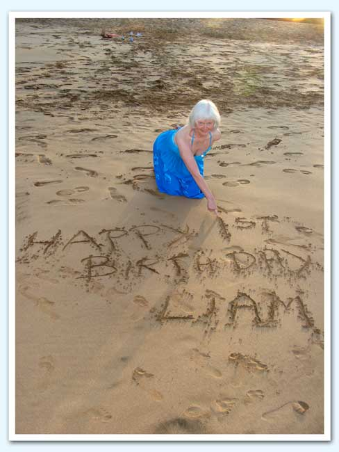 Happy 1st Birthday Liam
