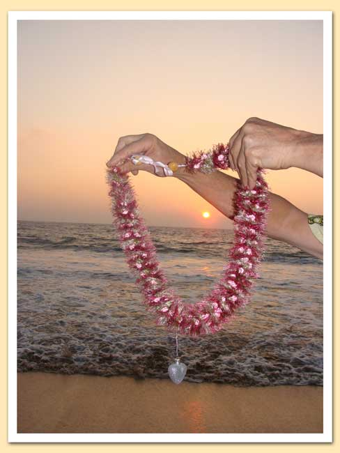 Brad's heart and Lei